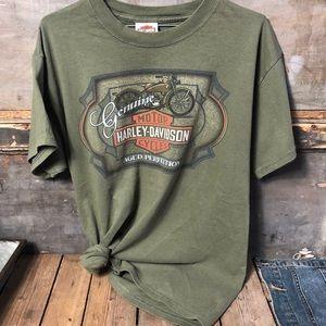 2007 Woodstock NY Harley Davidson Tee